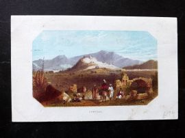 Thomson Holy Land 1863 Antique Print. Ephesus, Turkey